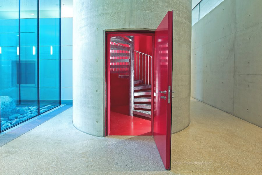 :envihab – Treppen zum Technik-Dach